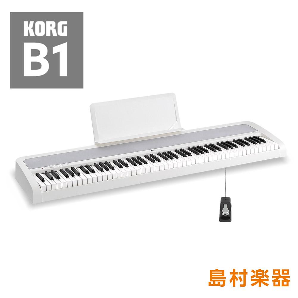 KORG B1 WH(ホワイト) 電子ピアノ 電子ピアノ KORG 88鍵盤【コルグ】 B1【別売り延長保証対応プラン:E】, complete:fee35044 --- sunward.msk.ru