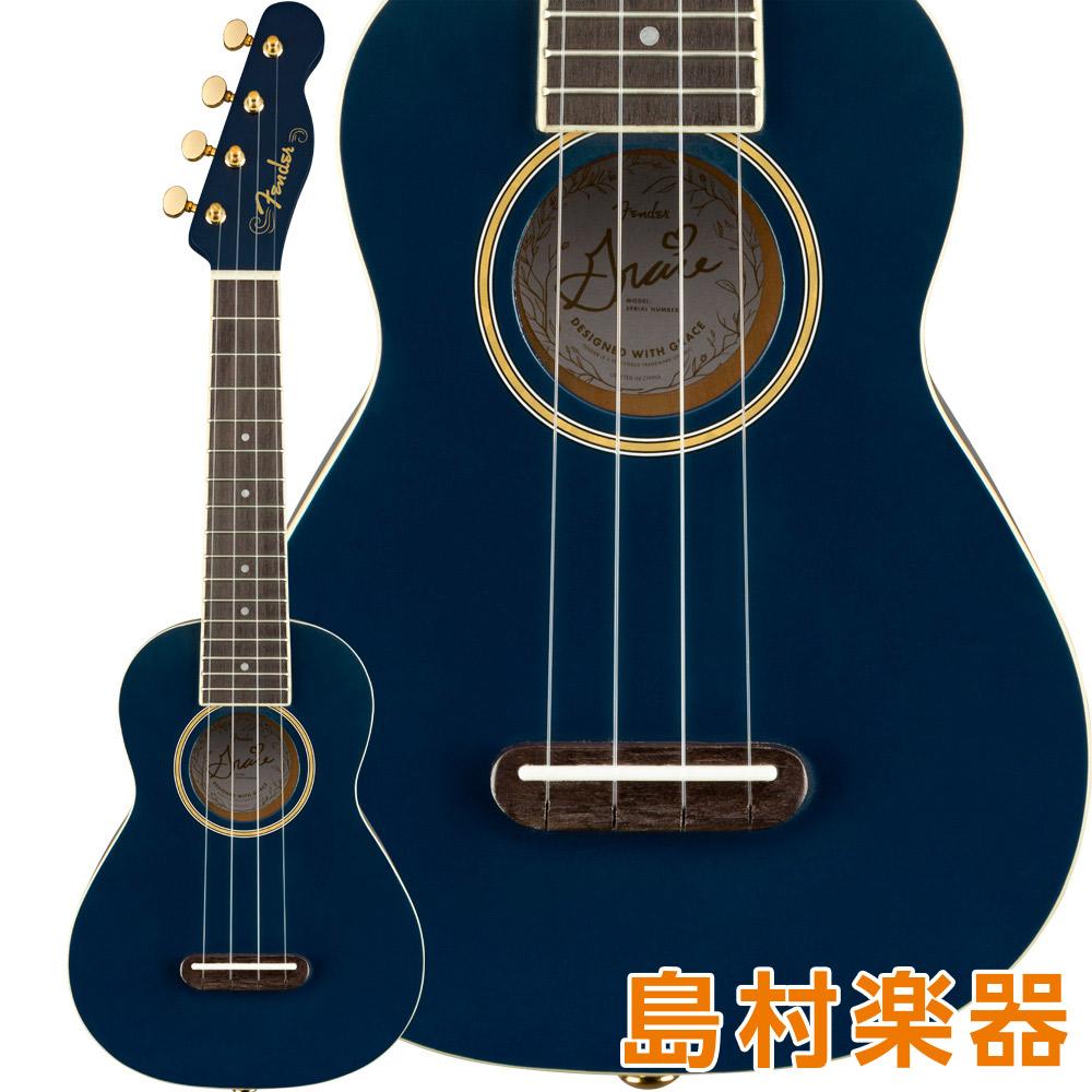 Fender Grace VanderWaal Moonlight Soprano Uke ソプラノウクレレ グレース・ヴァンダーウォールモデル 【フェンダー】