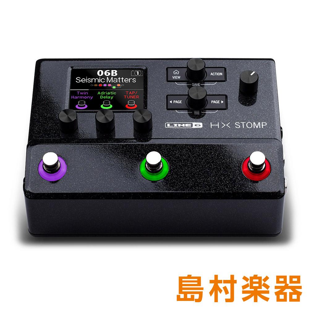 LINE6 HX Stomp LINE6 HX ギター・プロセッサー【電源アダプター付属 Stomp】, あそりんどう:8f74f7ed --- vietwind.com.vn