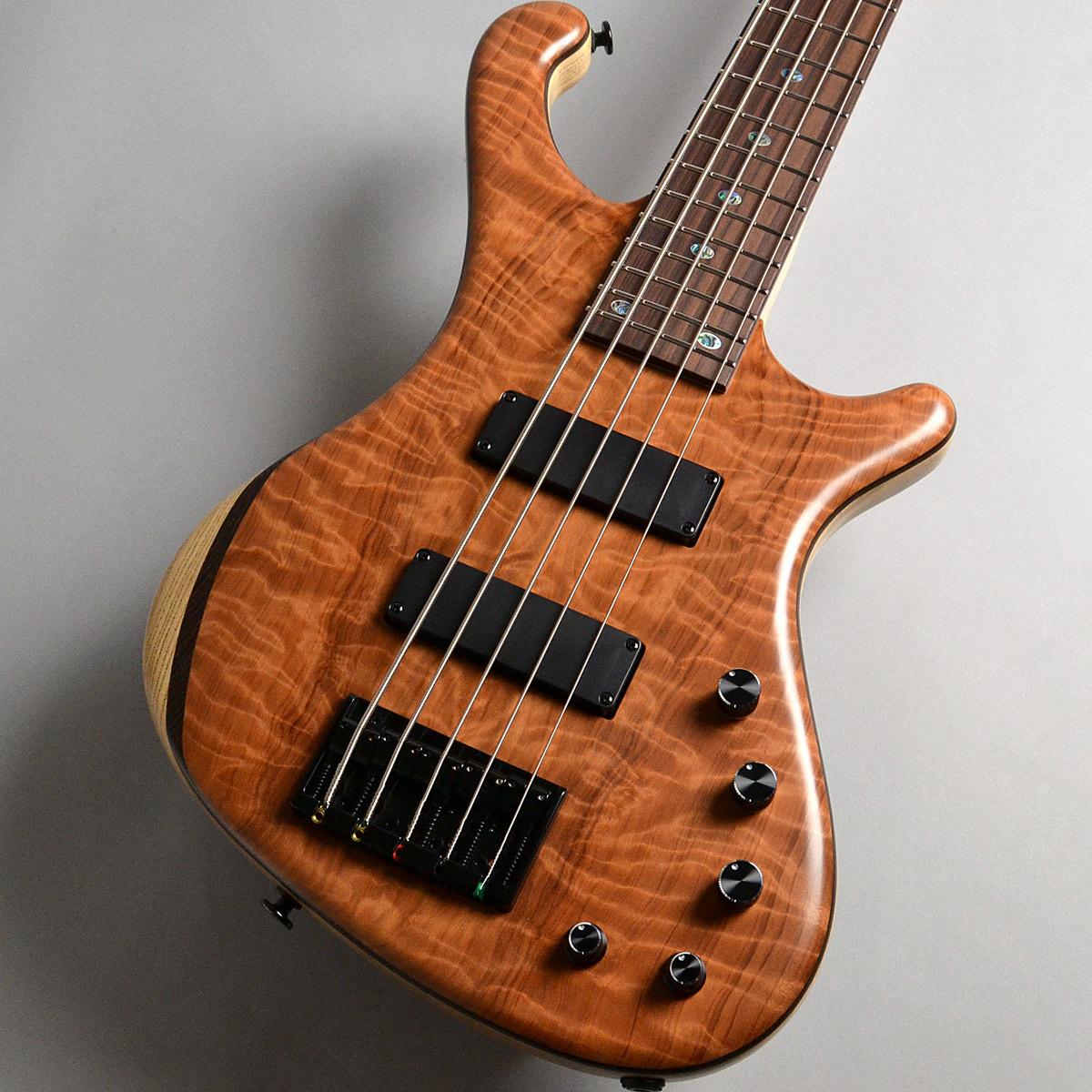 Freedom Custom Guitar Research Dulake Flat 5st Redwood Top Ash エレキベース(5弦) 【フリーダム】【新宿PePe店】
