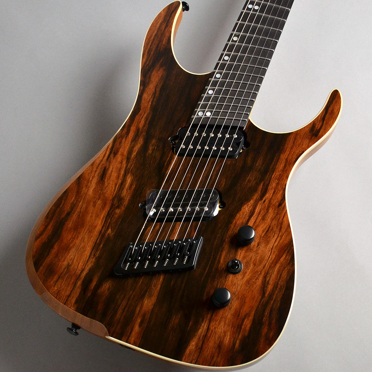 Ormsby Guitars Hype GTR7 MULTISCALE Macassar Ebony エレキギター(7弦) 【オームズビー】【新宿PePe店】