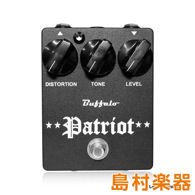 Buffalo FX Patriot コンパクトエフェクター ファズ ディストーション 【バッファローエフェクツ】