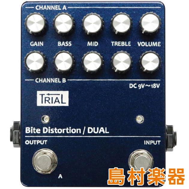 TRIAL Bite Distortion Dual コンパクトエフェクター ディストーション 【トライアル】