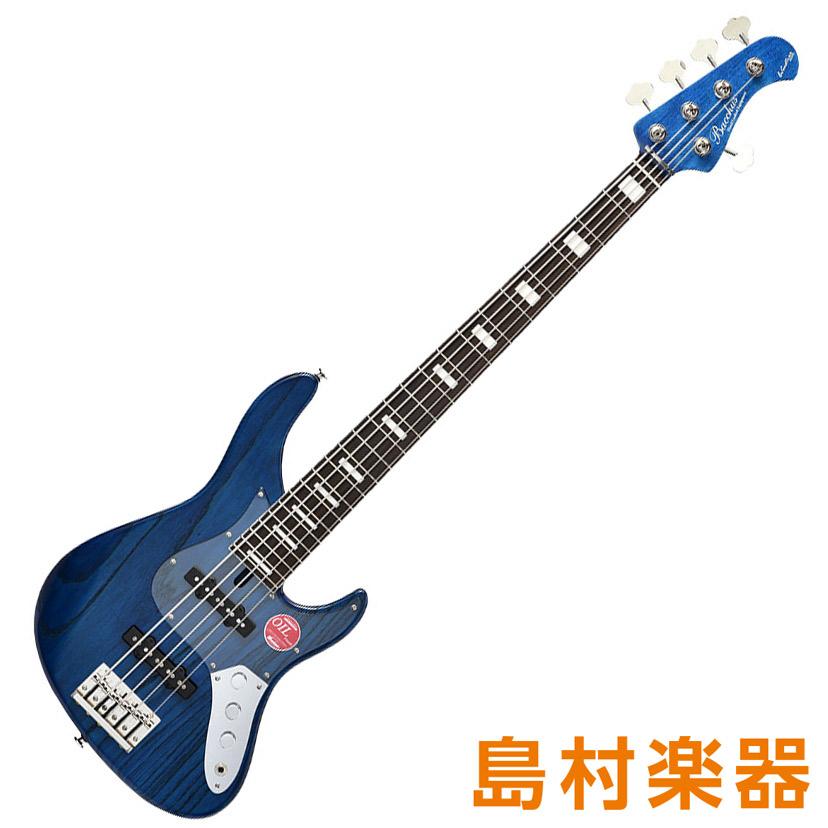 Bacchus WL524DX-ASH BLU/OIL ブルーオイル 5弦エレキベース クラフトシリーズ 【バッカス】