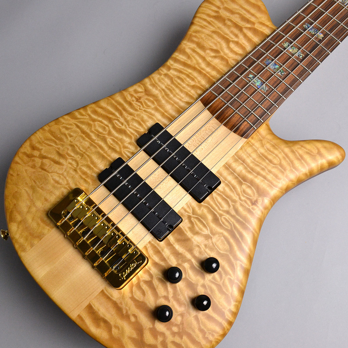 Spector NS6XL SC/5A Quilted Maple Top #004 エレキベース(6弦) 【スペクター】【新宿PePe店】【USA製】【限定特価】