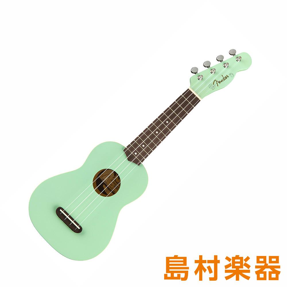 Fender Venice Soprano Uke Surf Green SGN ソプラノウクレレ 【フェンダー】