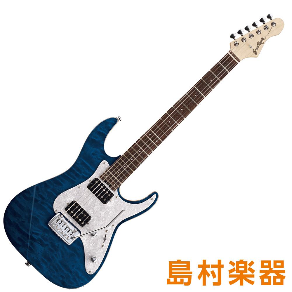 GrassRoots G-MR-55R See Thru Blue エレキギター 【グラスルーツ】