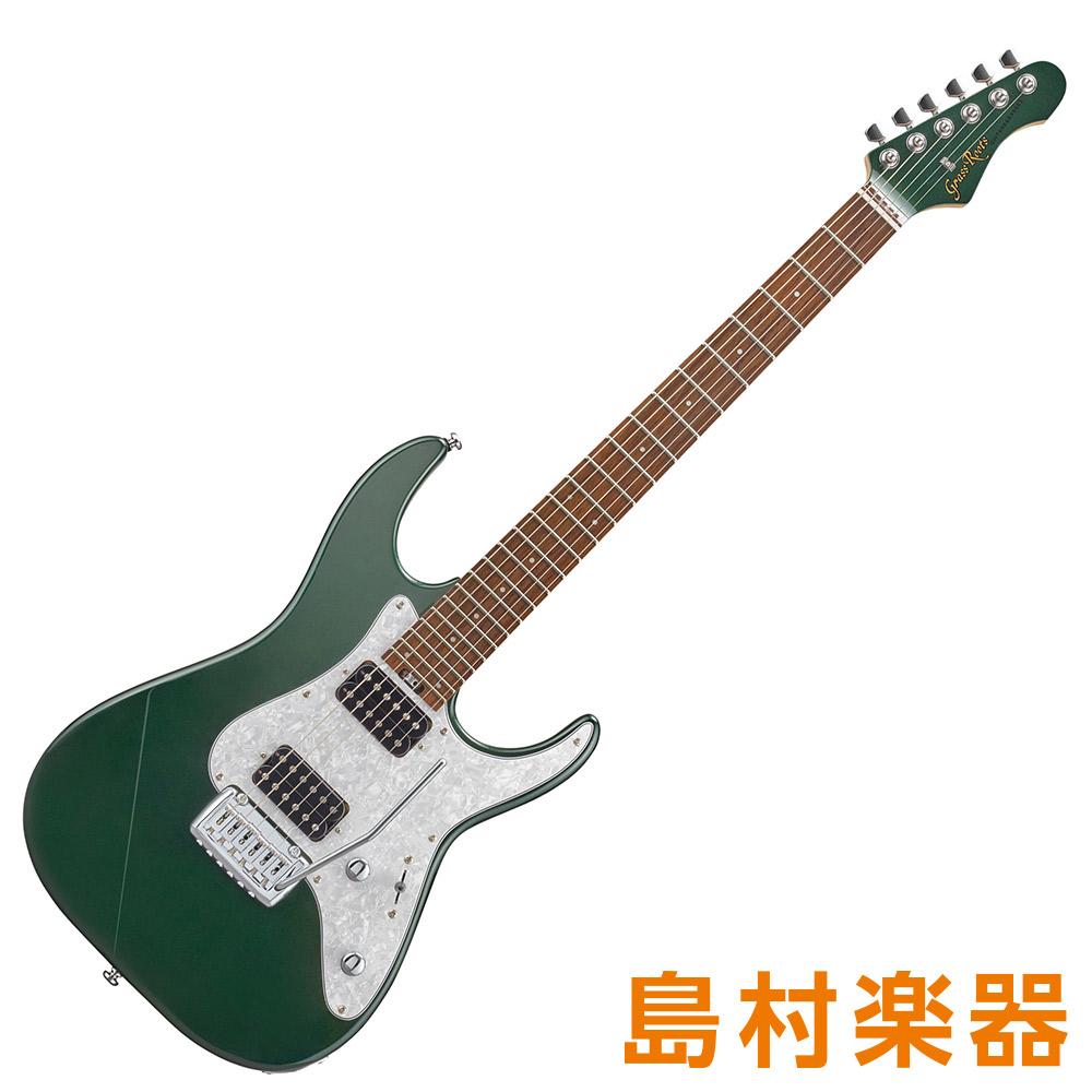 GrassRoots G-MR-55R/MH Metallic Green エレキギター 【グラスルーツ】