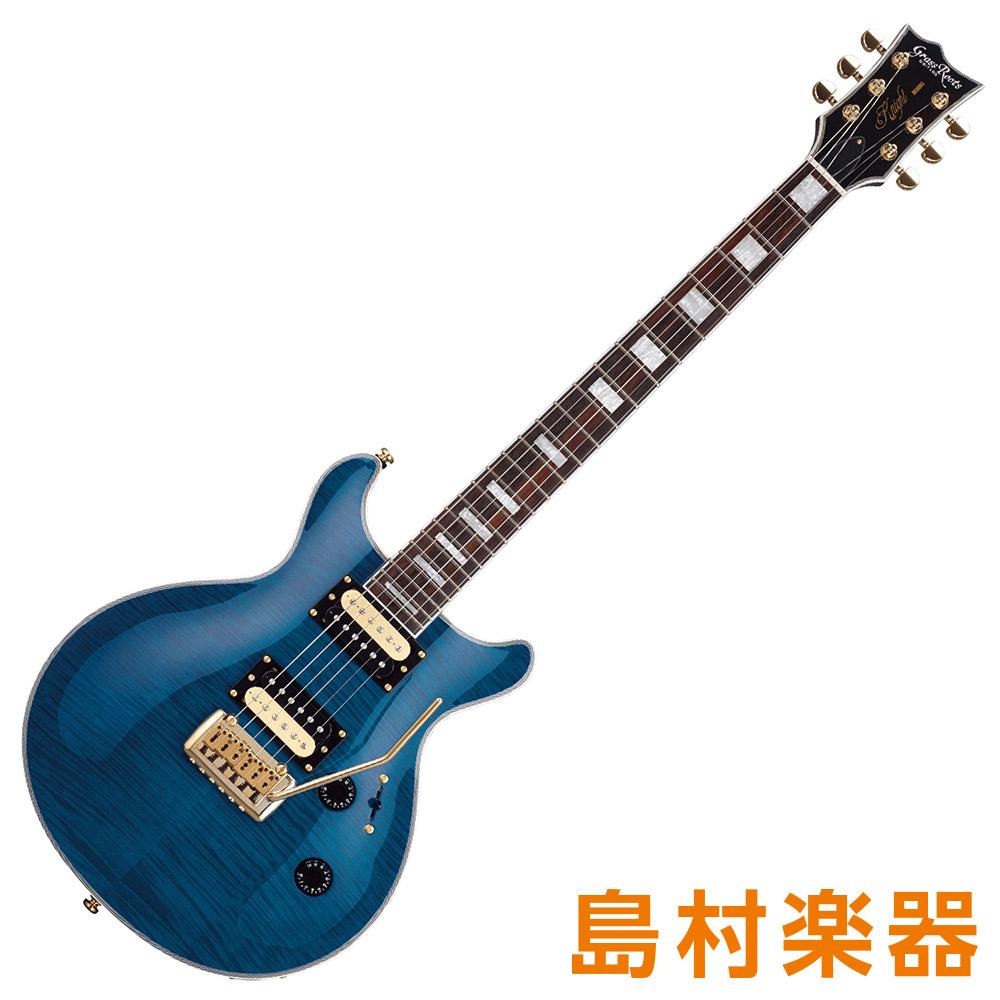 GrassRoots G-KT-60C See Thru Blue エレキギター 【グラスルーツ】