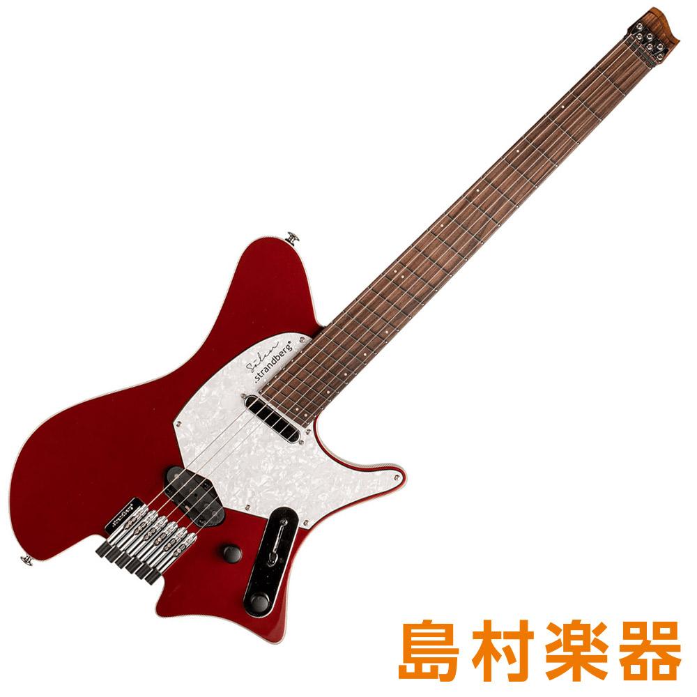 Strandberg Salen Deluxe Candy Apple Red エレキギター 【ストランドバーグ】