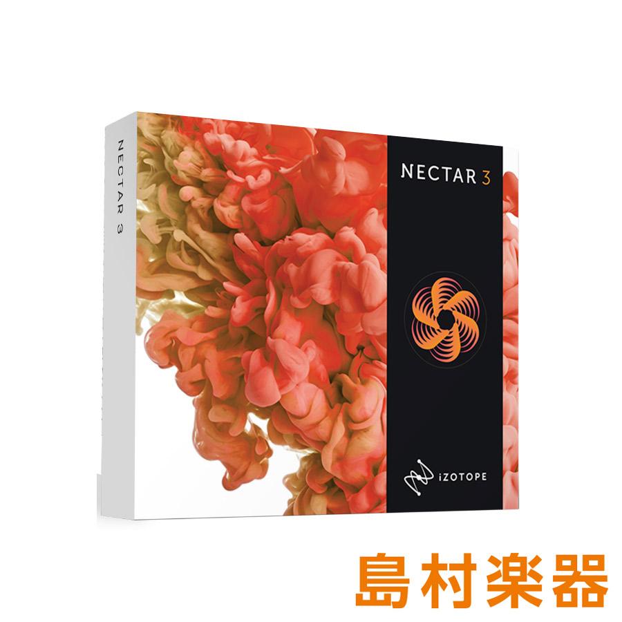 iZotope Nectar3 プラグインソフト [ Celemony Melodyne 4 essential]同梱 【ダウンロード版】 【アイゾトープ】【国内正規品】
