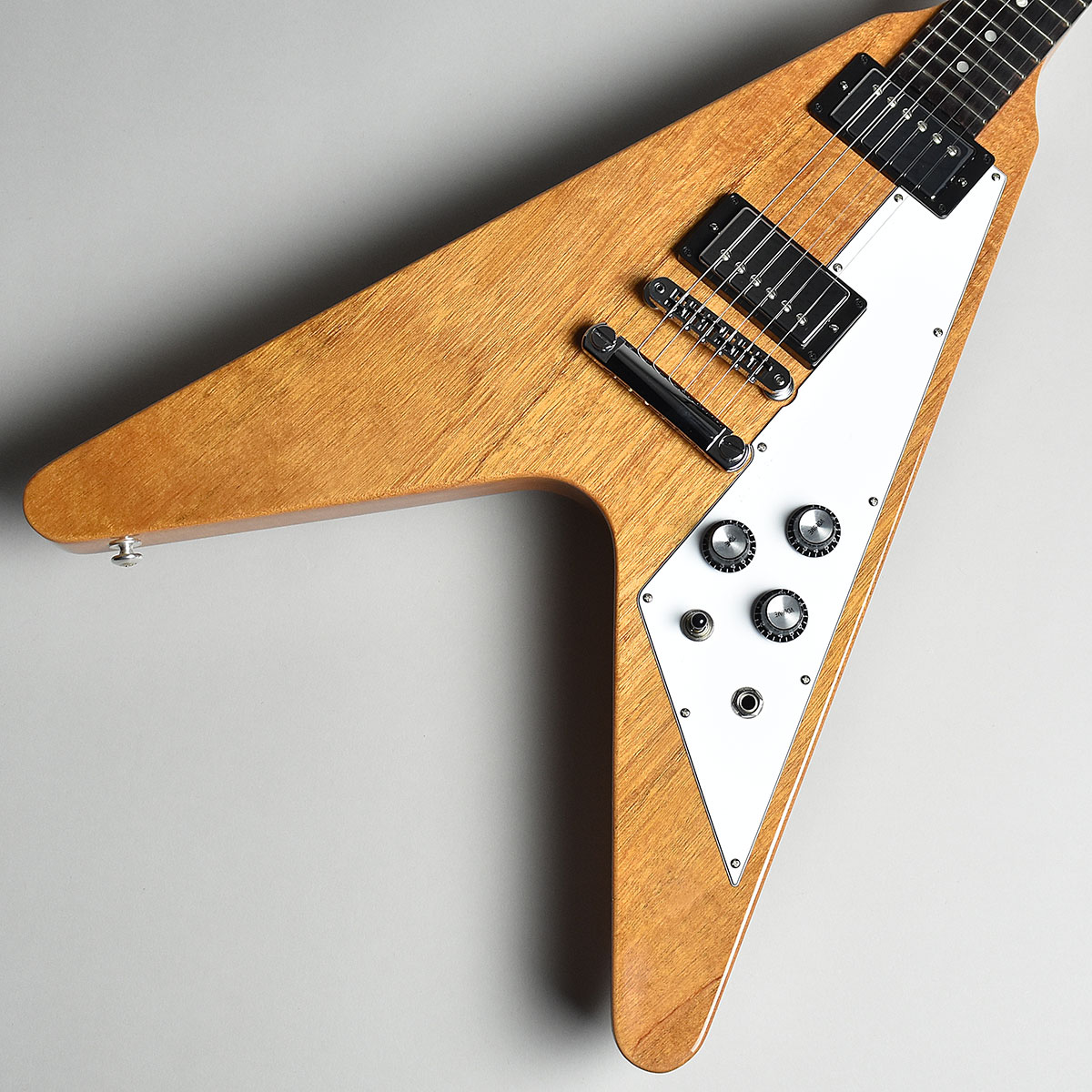 Gibson Flying V 2019 Antique Natural S/N:190014566 【ギブソン フライングV】【未展示品】