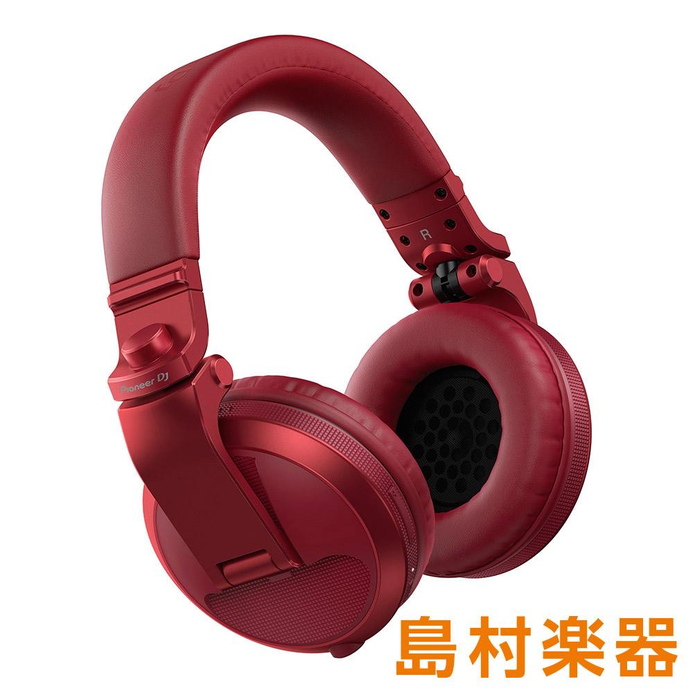 Pioneer DJ HDJ-X5BT-R (メタリックレッド) ワイヤレスヘッドホン Bluetoothヘッドホン DJヘッドホン 【パイオニア】