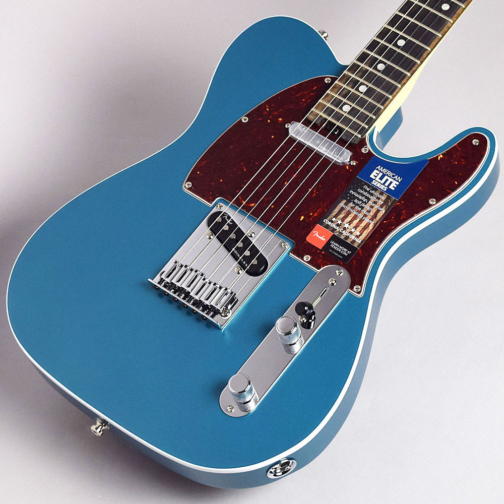 Fender American Elite Telecaster(Ocean Turquoise/Ebony) テレキャスター 【フェンダー アメリカン・エリート】【福岡イムズ店】