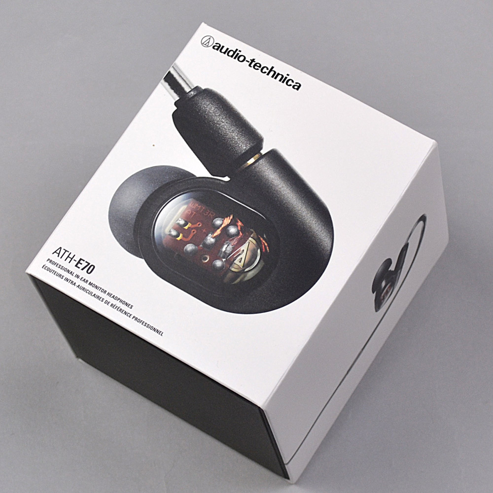 audio-technica ATH-E70 イヤホン 【オーディオテクニカ ATHE70】【りんくうプレミアムアウトレット店】【新品未開封品】