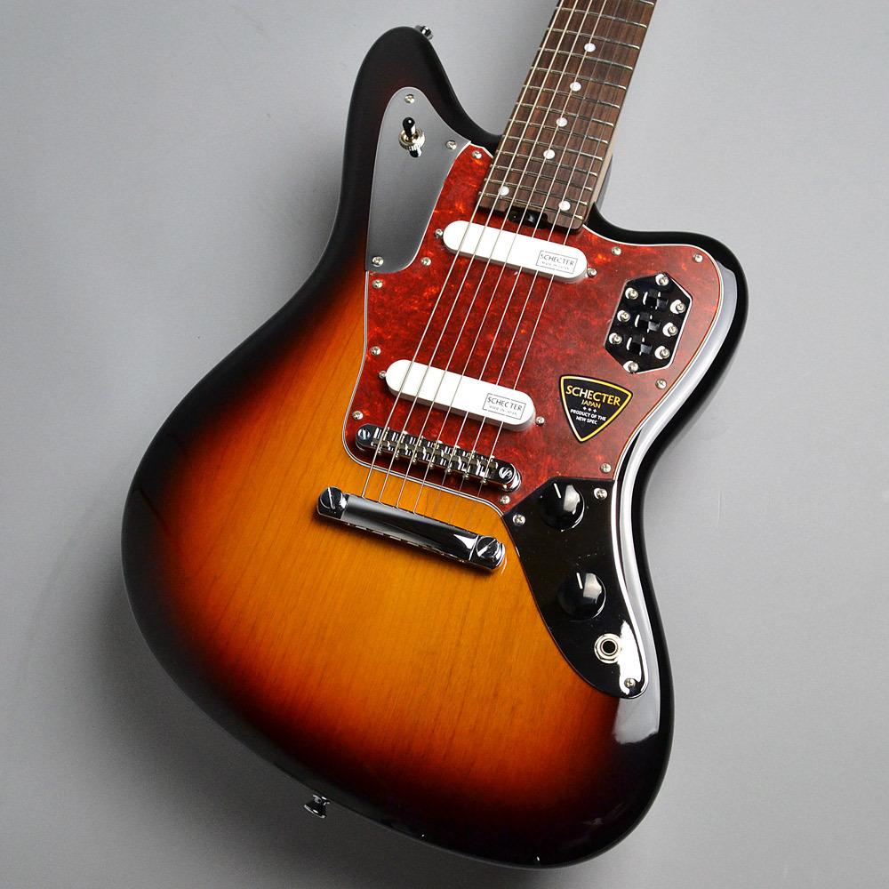 SCHECTER AR-07/3-Tone Sunburst エレキギター(7弦) 【シェクター】【新宿PePe店】