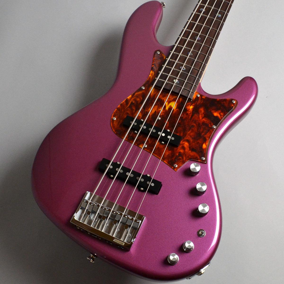 Freedom Custom Guitar Research RHINO 5st Alder/R MH Burgundy Mist 2 エレキベース(5弦) 【フリーダム】【新宿PePe店】