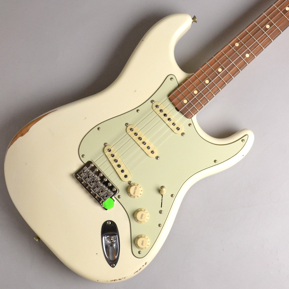 Fender ROAD WORN '60S STRATOCASTER Olympic White #MX18117675 エレキギター 【フェンダー】【イオンモール幕張新都心店】【Made in Mexico】