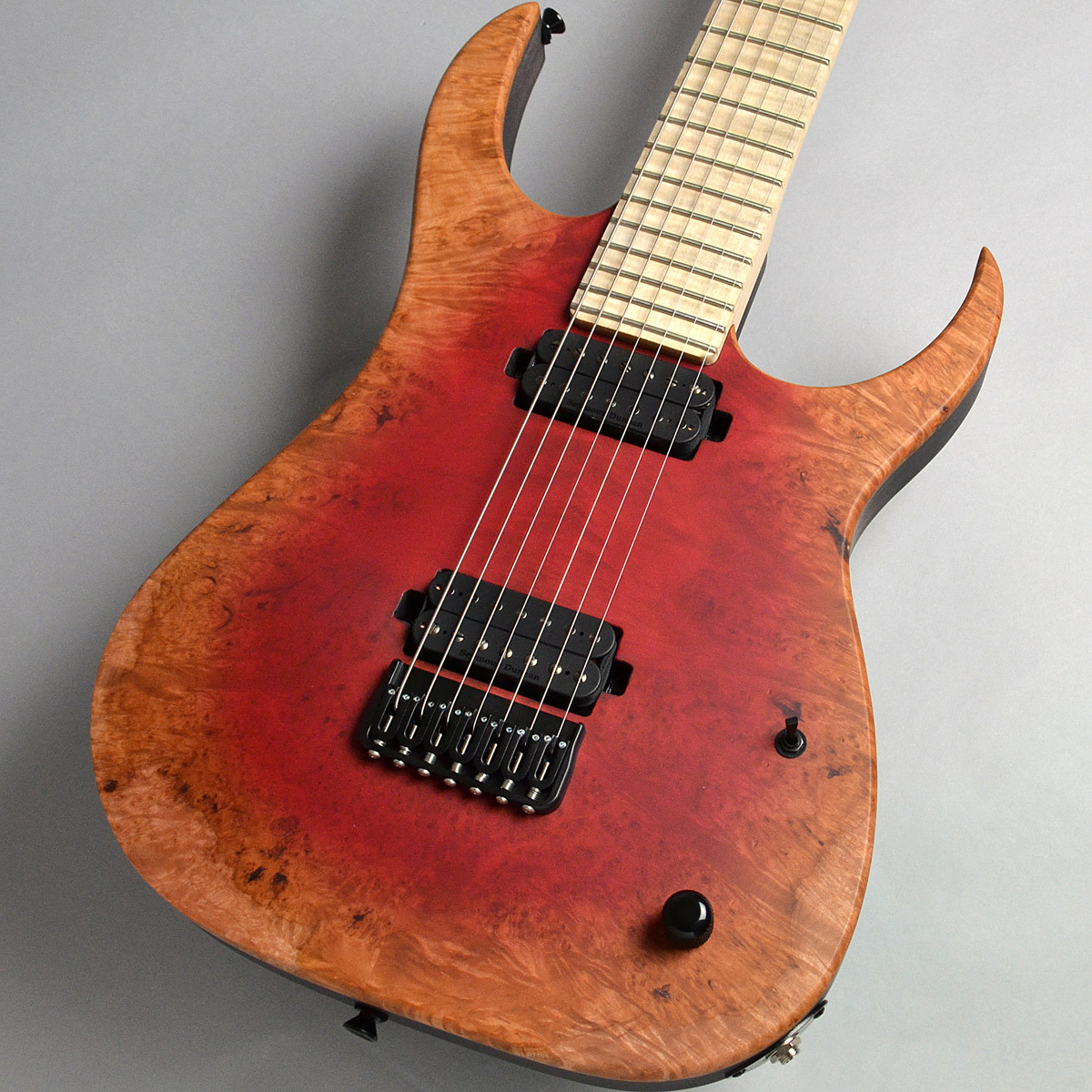 Strictly 7 Guitars Cobra Special 7 HT/B Poplar Burl / Red Burst Matte エレキギター(7弦) 【ストリクトリー7ギターズ】【新宿PePe店】【楽器フェア2018モデル】