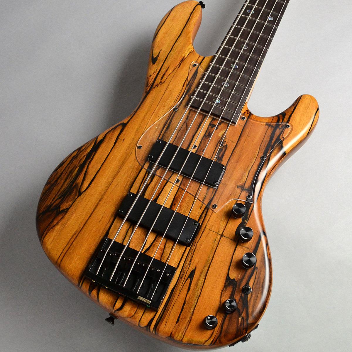 Freedom Custom Guitar Research RHINO 5st Mahogany/R Black&White Ebony Top エレキベース(5弦) 【フリーダム】【新宿PePe店】【楽器フェア2018展示モデル】