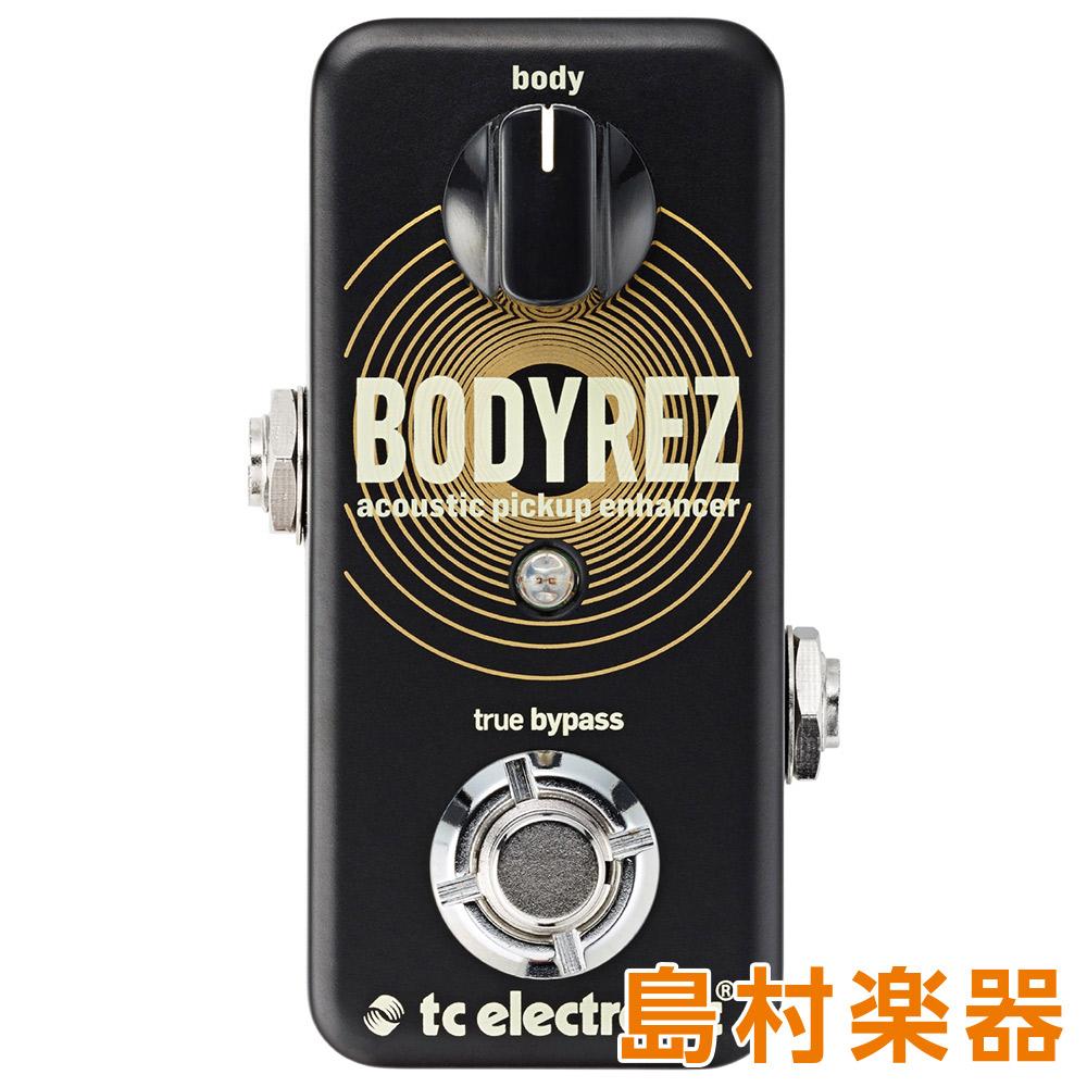 TC Electronic BODYREZ ACOUSTIC PICKUP ENHANCER コンパクトエフェクター エンハンサー 【TC エレクトロニック】