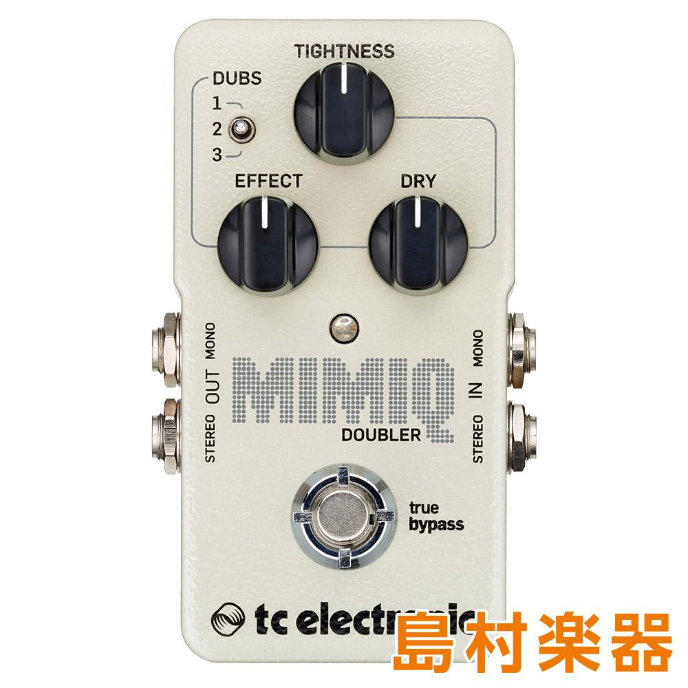 TC Electronic Mimiq Doubler コンパクトエフェクター ギター用リアルタイム・ダブリングペダル 【TC エレクトロニック】