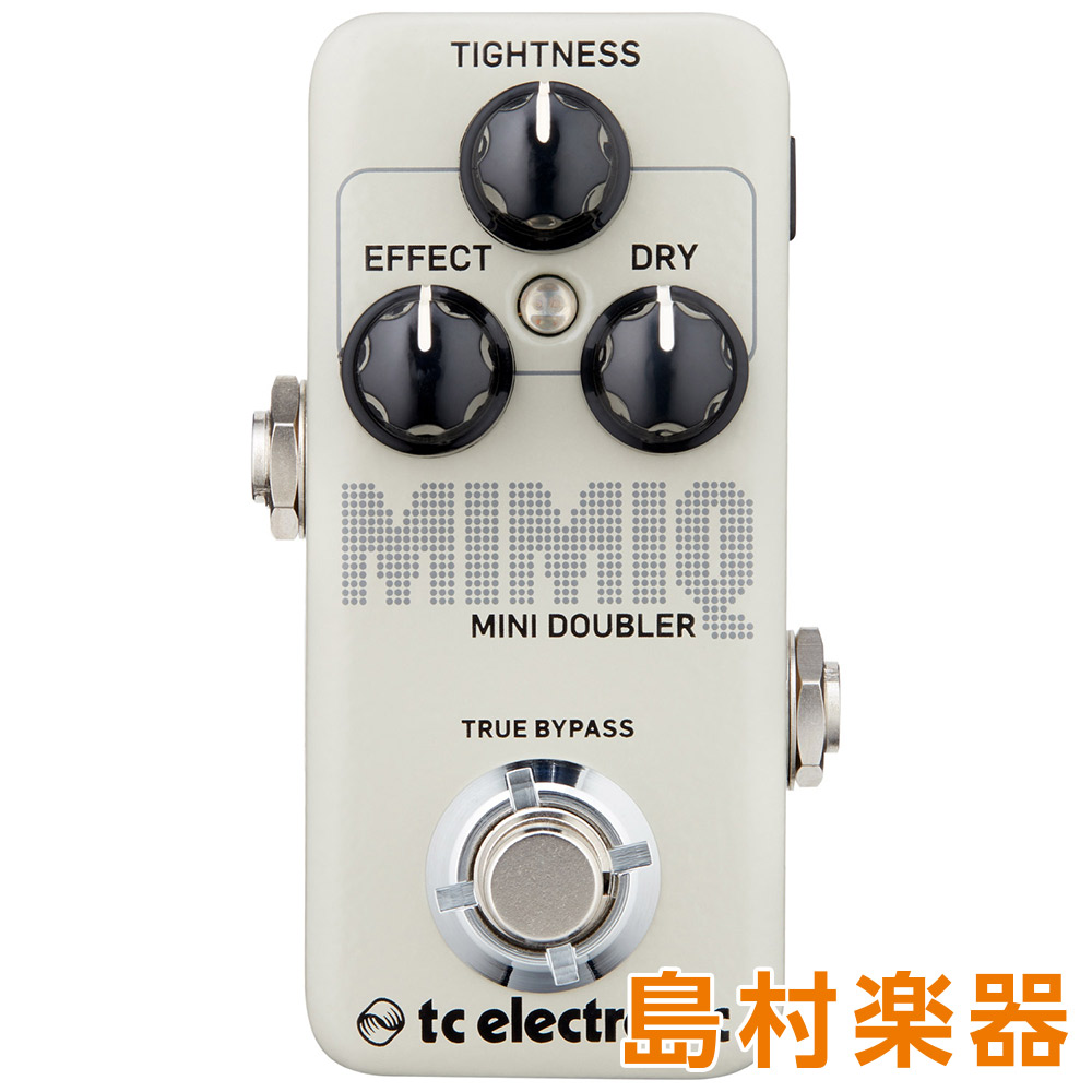 TC Electronic MIMIQ MINI DOUBLER コンパクトエフェクター ミニチュア・リアルタイム・ダブル・トラッキング・ペダル 【TC エレクトロニック】