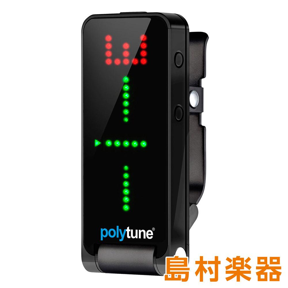 TC Electronic POLYTUNE CLIP BLACK クリップ式ポリフォニック・チューナー 【TC エレクトロニック】