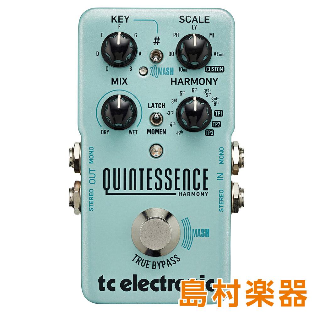 TC Electronic QUINTESSENCE HARMONY コンパクトエフェクター ハーモナイザー・ペダル TonePrint対応 【TC エレクトロニック】
