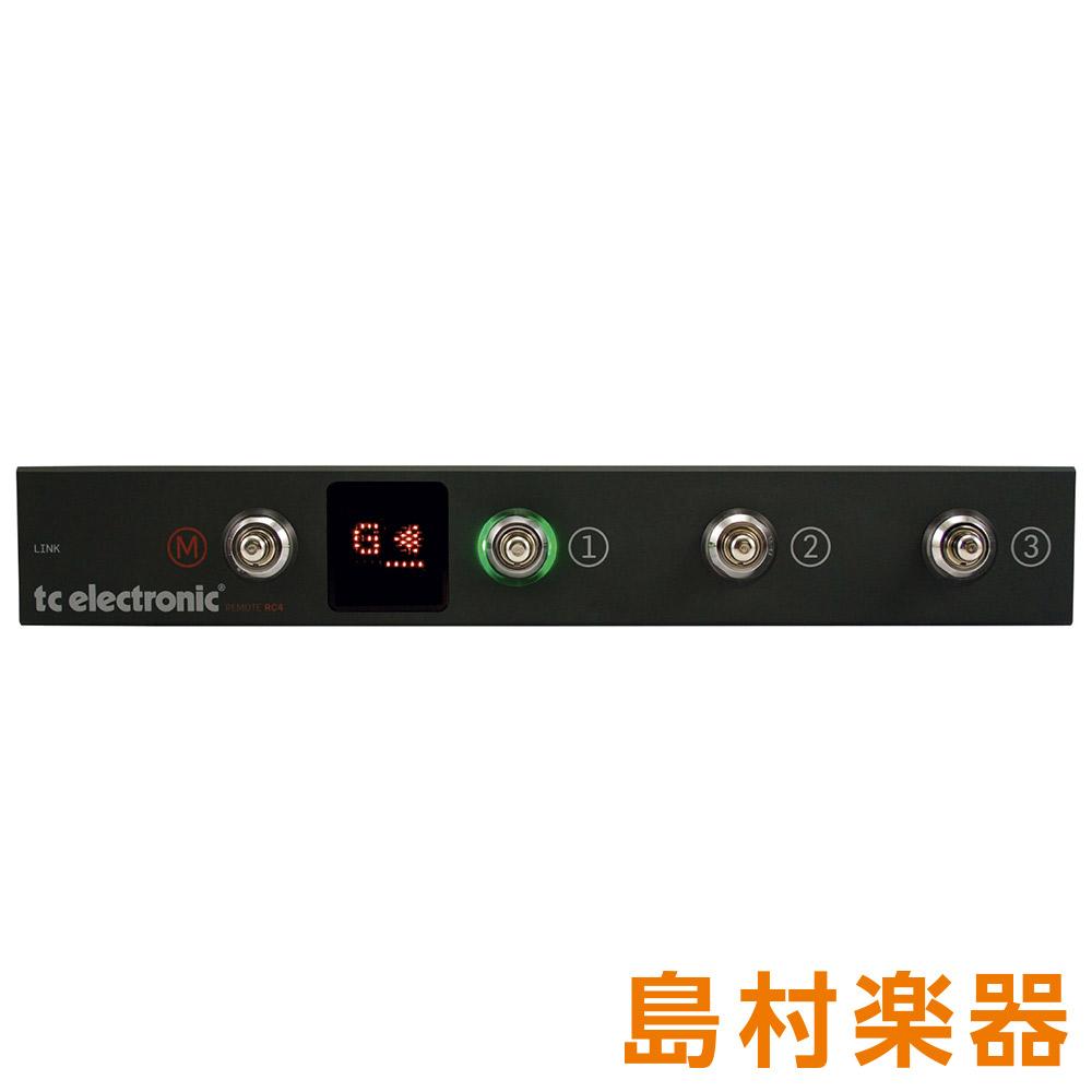 TC Electronic Remote RC4 フットスイッチ ベースアンプフットコントローラー 【TC エレクトロニック】