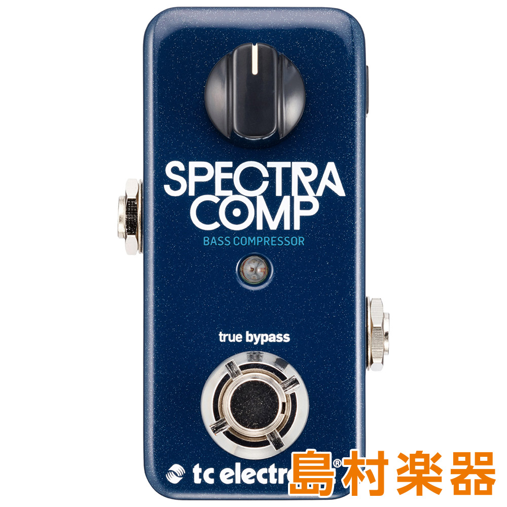 TC Electronic SpectraComp Bass Compressor コンパクトエフェクター コンプレッサ- 【TC エレクトロニック】