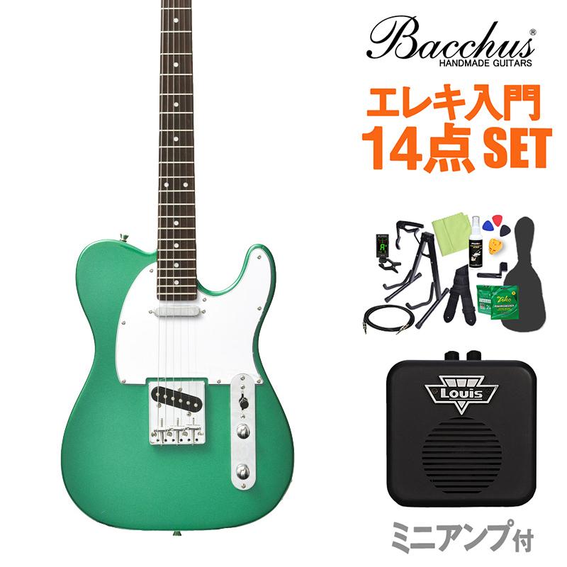 Bacchus BTE-1R GRM エレキギター 初心者14点セット 【ミニアンプ付き】 ユニバースシリーズ 【バッカス テレキャスター】【4/11入荷 予約受付中】