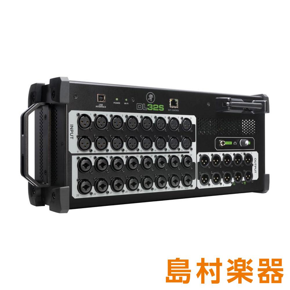 MACKIE DL32S 32チャンネル ワイヤレスデジタルミキサー 【マッキー】