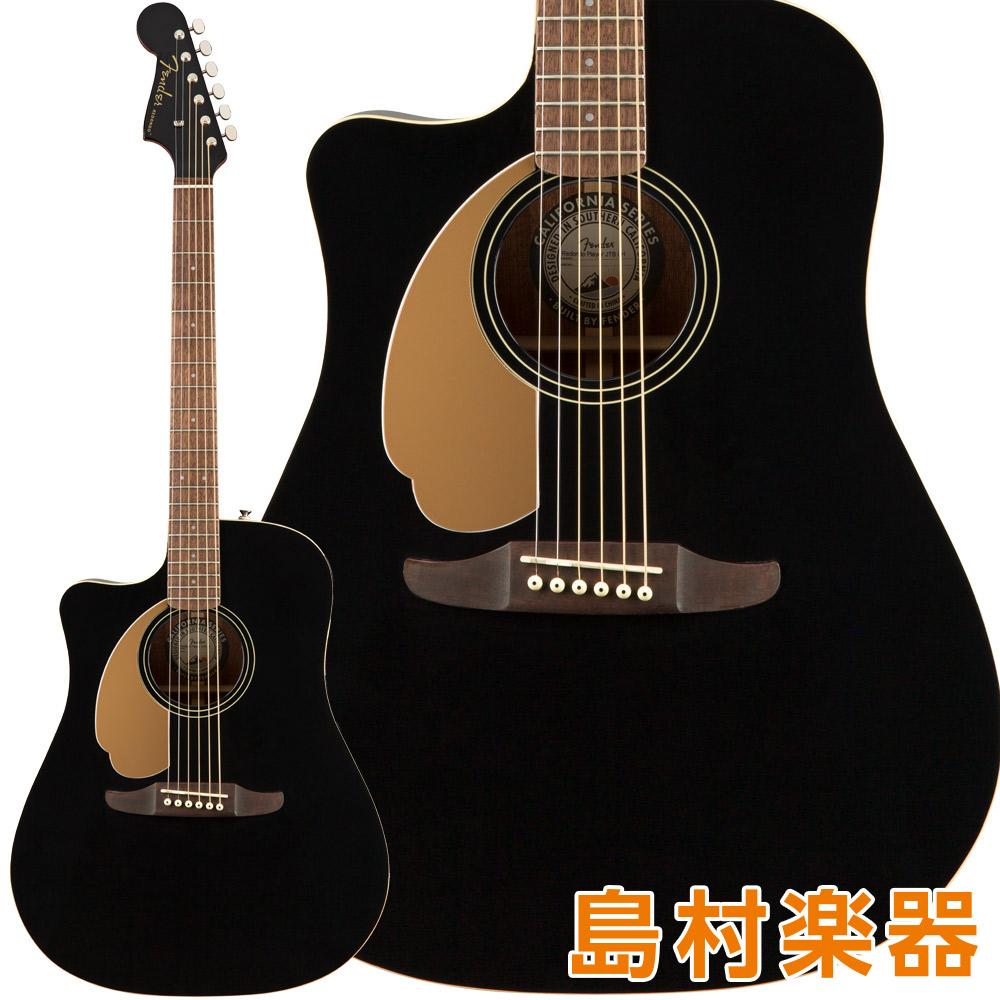 Fender Redondo Fender Player LH Black Walnut Fingerboard Jetty Black アコースティックギター Walnut【フェンダー】【左利き/レフトハンド】, 将棋の里天童駒そば:283c52c3 --- sunward.msk.ru
