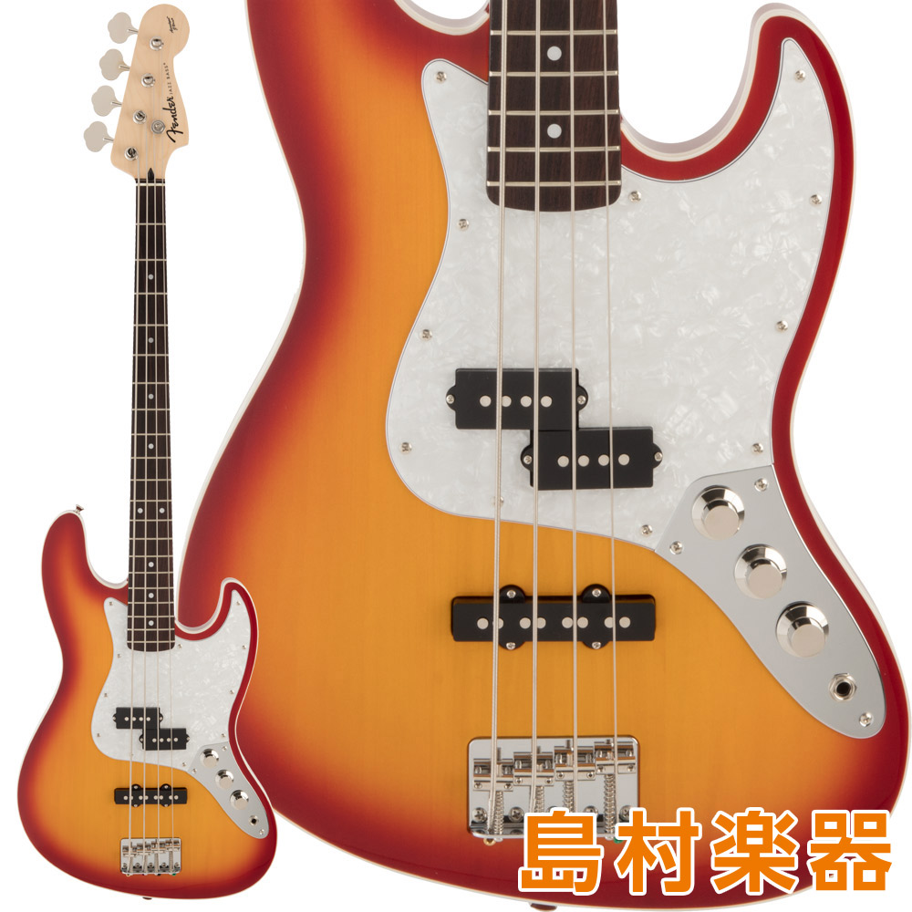 Fender FSR Aerodyne Jazz Bass Rosewood Fingerboard Sienna Sunburst エレキベース 【フェンダー】【数量限定品】