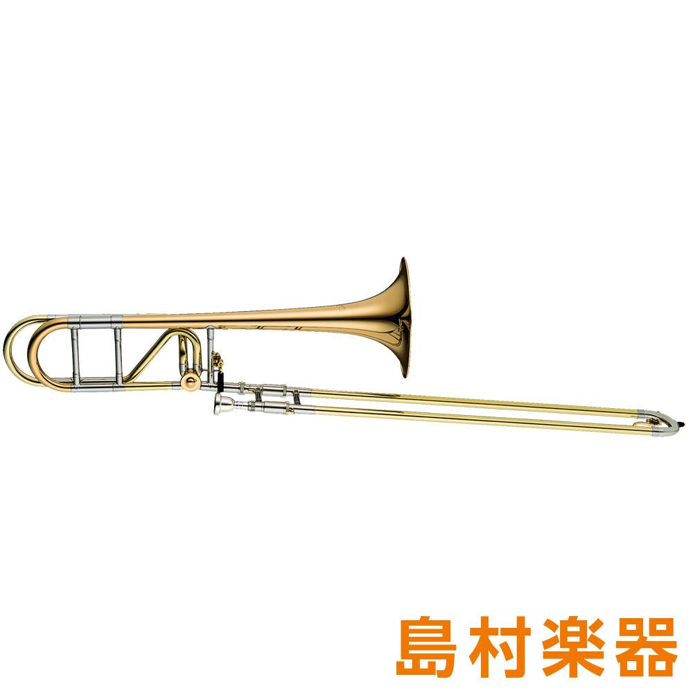 XO 1236RL-O(UT-GB) テナーバストロンボーン ロータリーバルブ付 B♭/F ゴールドブラスベル ラッカー仕上げ