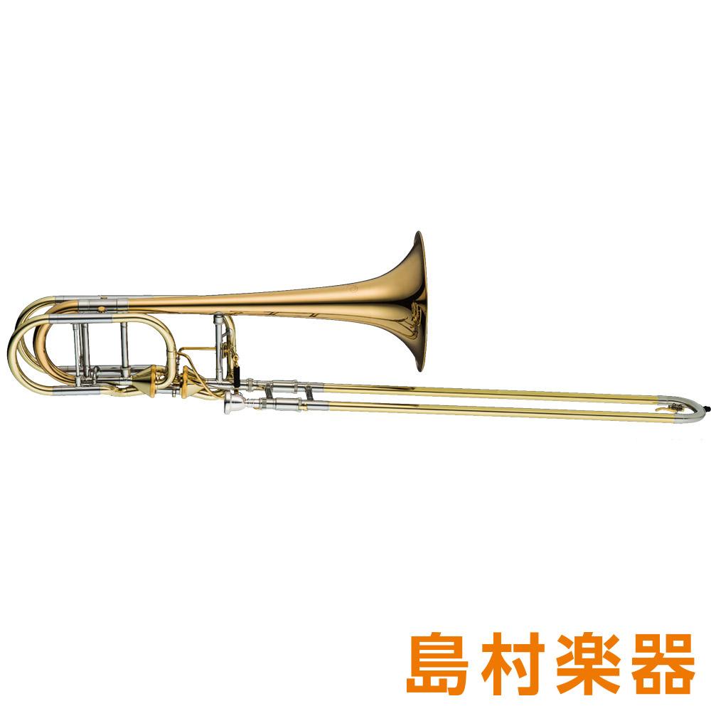 XO 1240RL-T(RB-GB) バストロンボーン アキシャル・フローバルブ付 B♭/F/G♭/D ゴールドブラスベル ラッカー仕上げ
