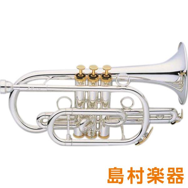 XO CR-S コルネット B♭ イエローブラス 銀メッキ仕上げ