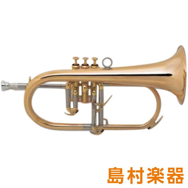 XO HD-GB フリューゲルホルン B♭ ゴールドブラス クリアラッカー仕上げ