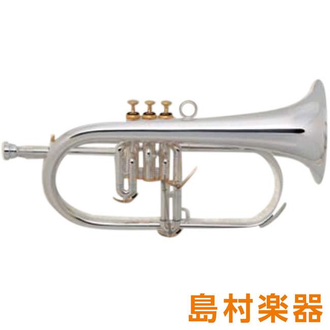 XO HD-GBS フリューゲルホルン B♭ ゴールドブラス 銀メッキ仕上げ