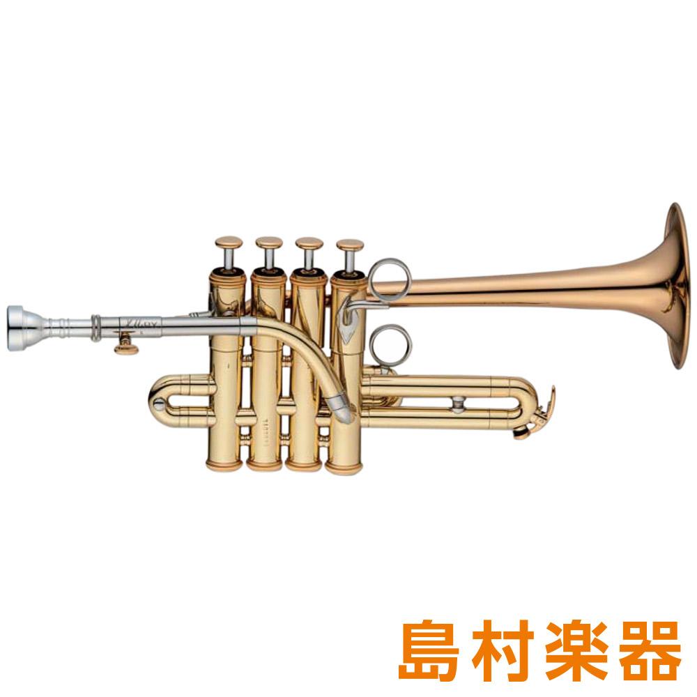 XO PX-GB ピッコロトランペット B♭/A ゴールドブラス クリアラッカー仕上げ