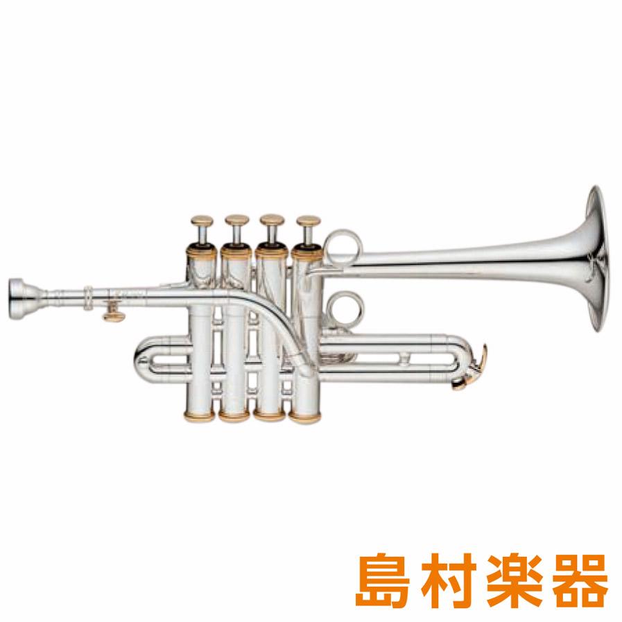 XO PX-GBS ピッコロトランペット B♭/A ゴールドブラス 銀メッキ仕上げ