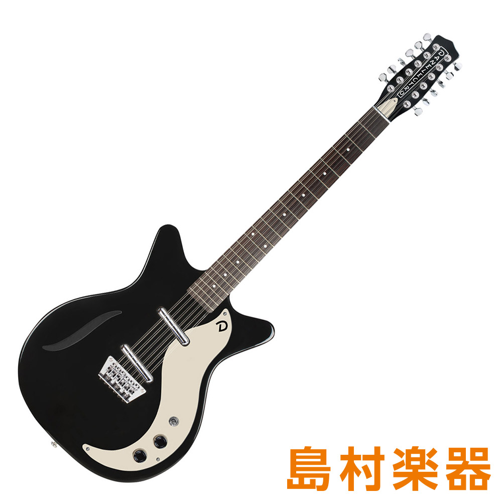 Danelectro VINTAGE 12S BLK ブラック エレキギター 12弦 VINTAGE 12String 【ダンエレクトロ】