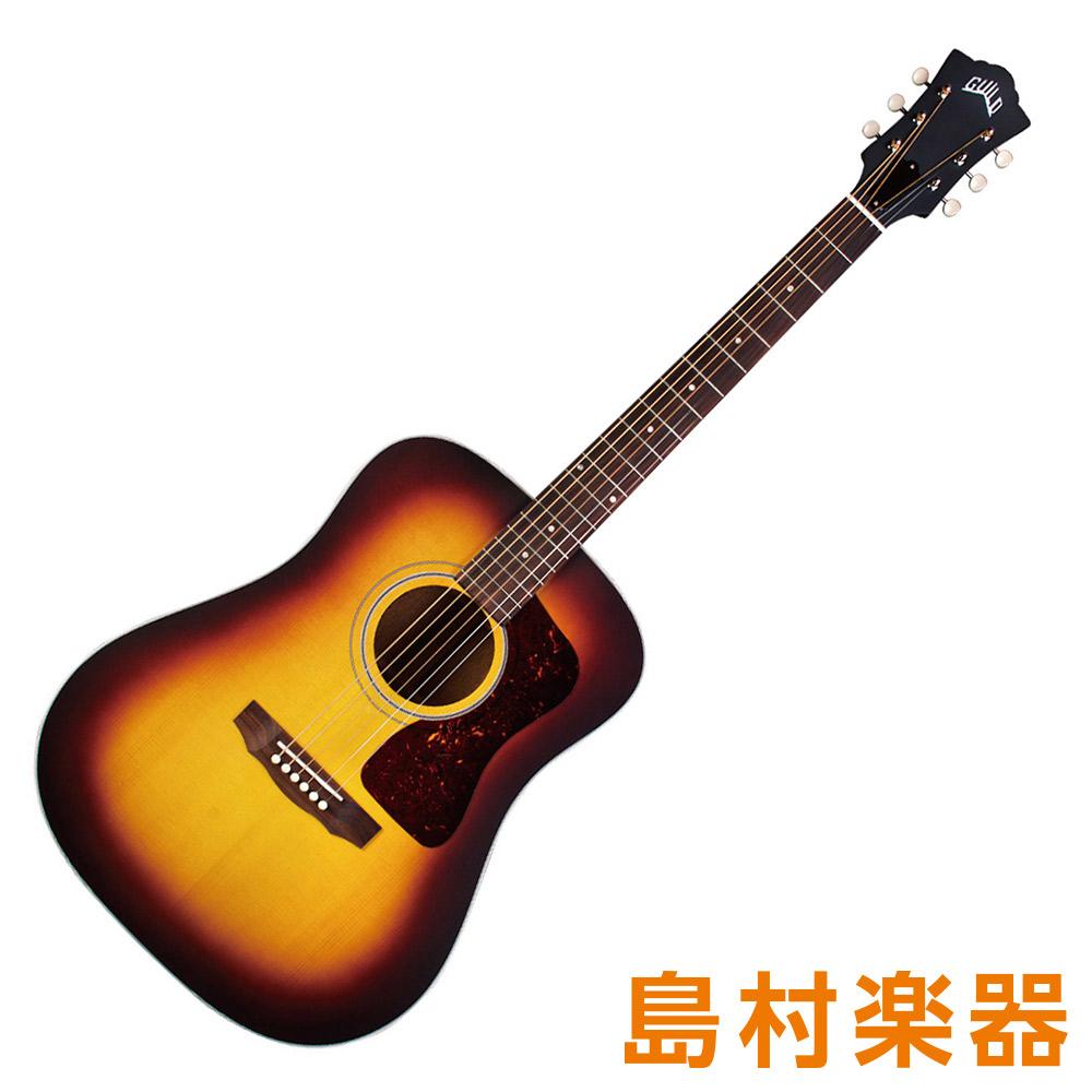 Guild D-40E ATB アンティークサンバースト エレアコギター ドレッドノートタイプ USA 【ギルド】