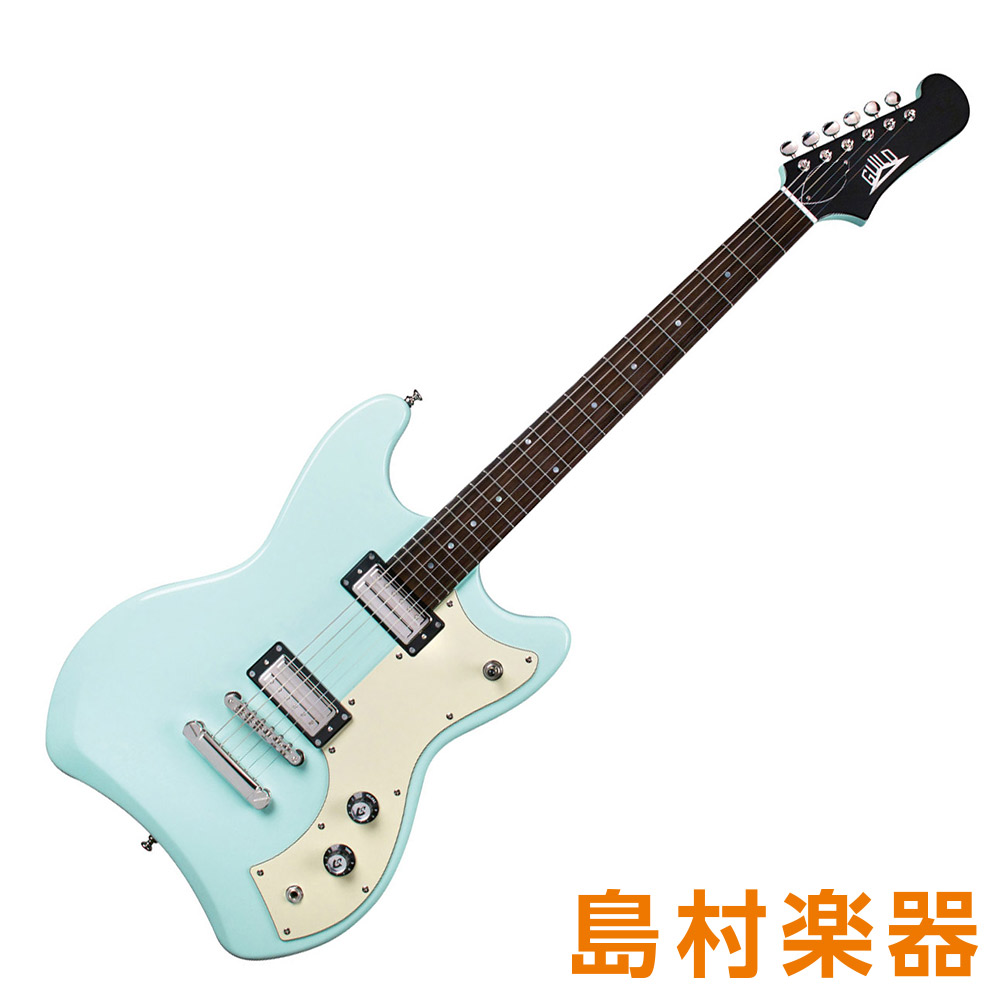 Guild JETSTAR SFG シーフォームグリーン エレキギター 【ギルド】
