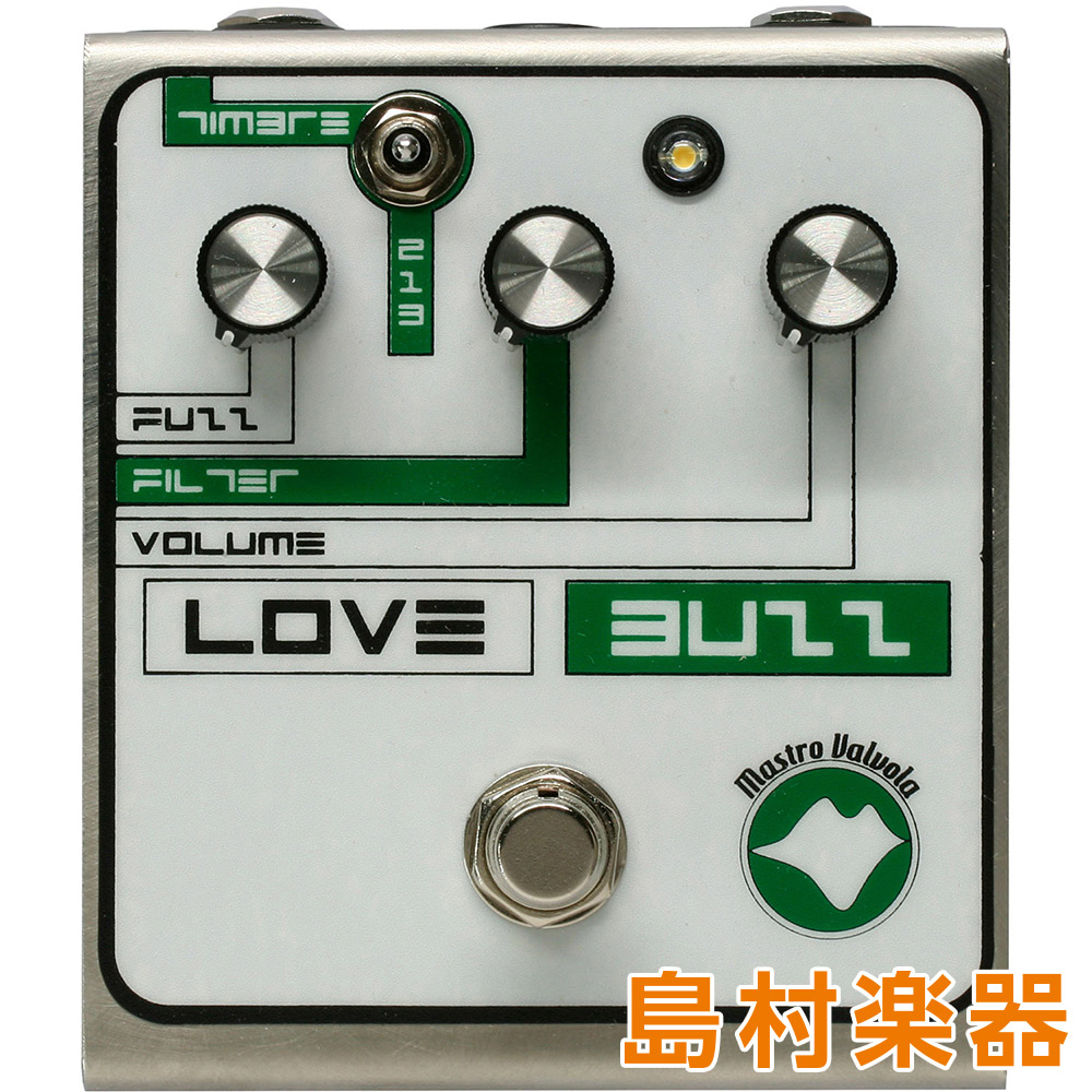 Mastro Valbola LOVE BUZZ コンパクトエフェクター ファズ 【マストロバロボーラ】