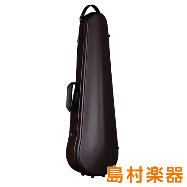 Carbon Mac CFV-2 スリム チョコブラウン バイオリン用ハードケース 【カーボンマック】