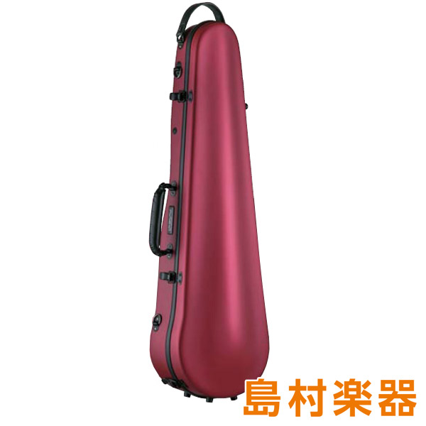 Carbon Mac CFV-2S サテン ワインレッド バイオリン用ハードケース 【カーボンマック】