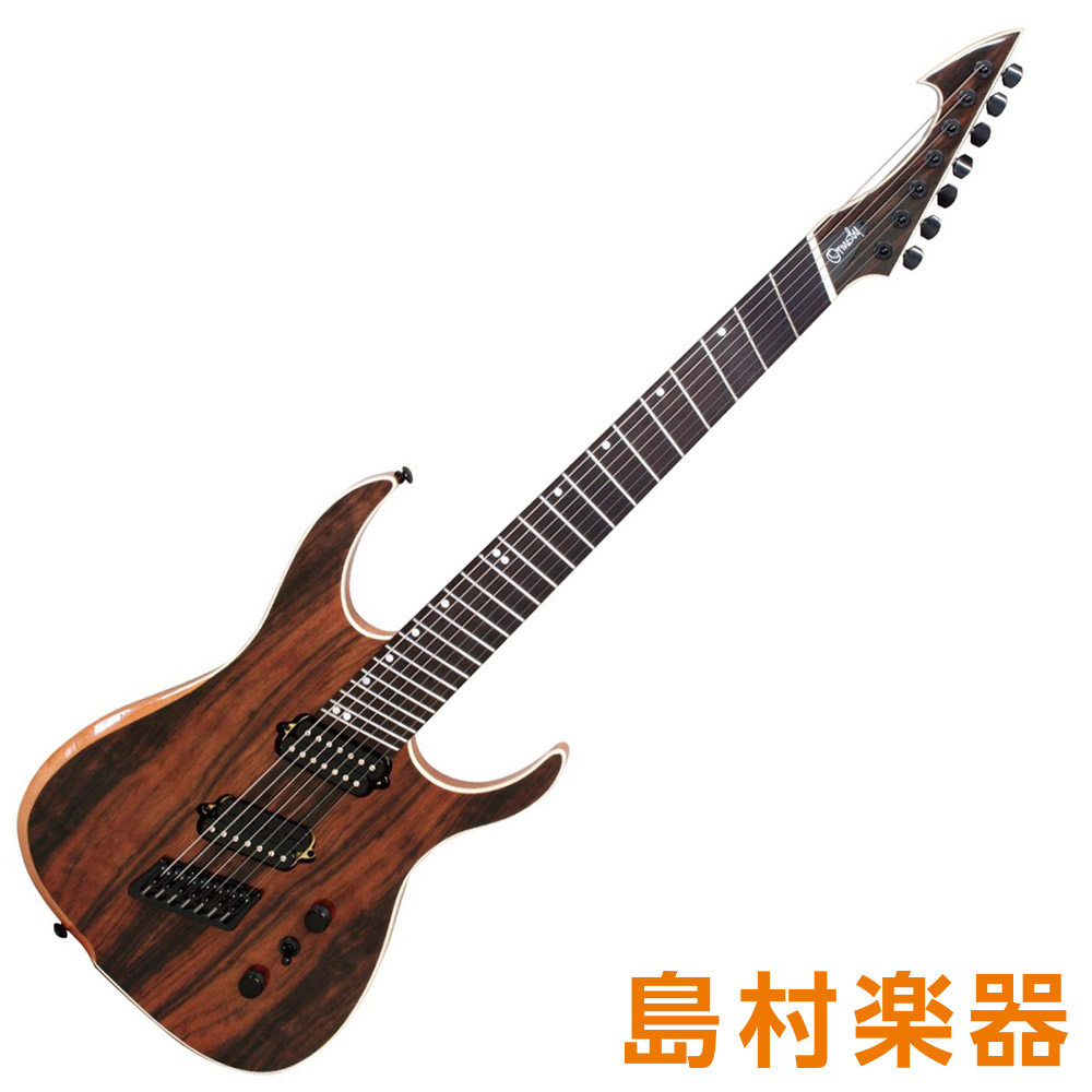 Ormsby Guitars HYPE GTR7 MSMP NT MACASSAR EBONY エレキギター 7弦 オームズビー 【オームズビー】