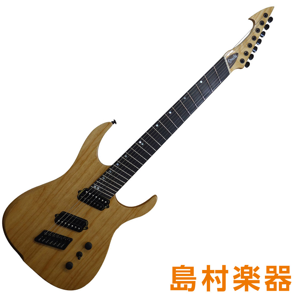 Ormsby Guitars HYPE GTR7 MS NT NATURAL SWAMP ASH エレキギター 7弦 オームズビー 【オームズビー】